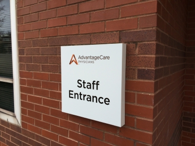 Architectural & Building Signage - exterior