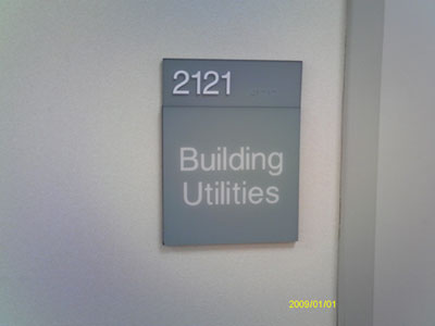 ADA & Modular Sign Systems